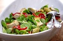 Semizotlu Enginar Salatası