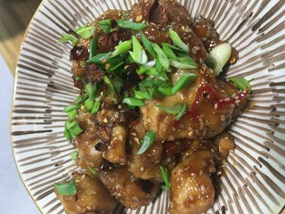 Sichuan Usulü Ballı Tavuk