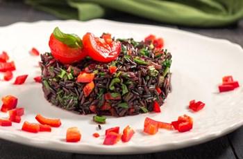 Siyah Pirinç Pilavı