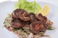 Soğan Salatalı Böbrek Kebabı