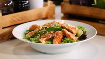 Somon Balığı Salatası