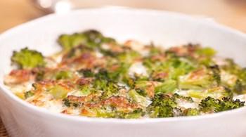 Somon ve Brokolili Pie
