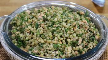 Somonlu Buğday Salatası