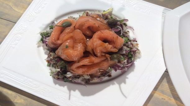 Somonlu Turp Salatası Tarifi