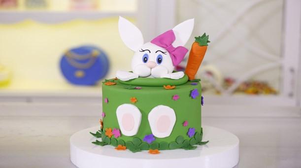 Tavşan Temalı Pasta