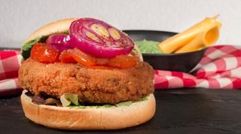 Tavuk Burger Yapımı