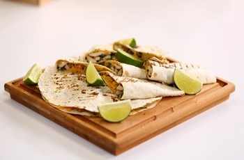 Tavuklu Mantarlı Quesadillas