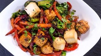 Tofu ve Sebze Sote