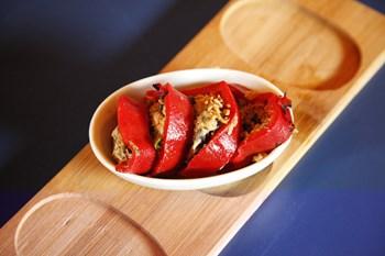 Ton Balığı Dolgulu Kırmızı Biber