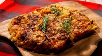 TORTILLA DE PATATAS  (Bask Usulü Omlet)