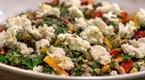 Tulum Peynirli Patlıcan Salatası