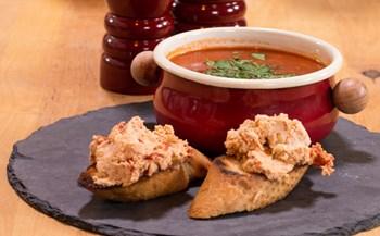 Yaz Çorbası & Cevizli Ekmek