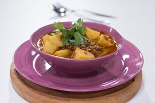 Yeşil Mercimekli Patates Musakka