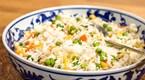 Yumurta ve Sebzeli Pirinç Pilavı