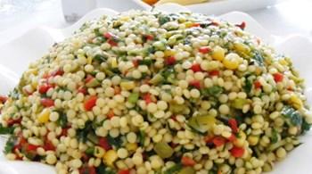 Zencefilli, Erikli Kuskus Salatası