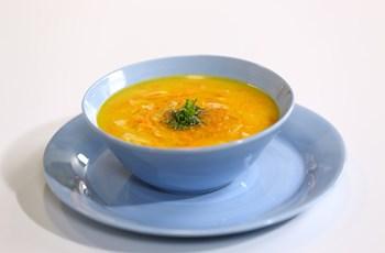 Zencefilli Havuç Çorbası