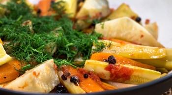 Zeytinyağlı Sebze Türlüsü