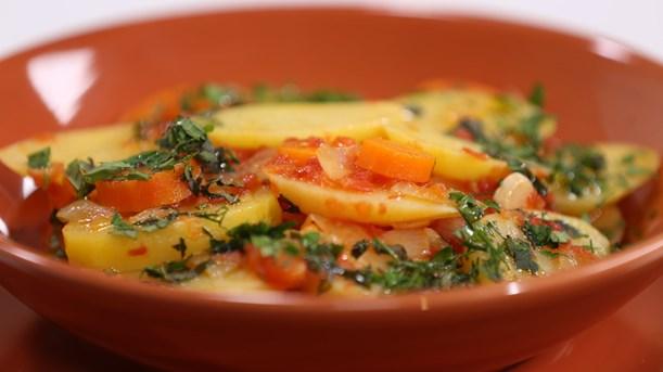 Zeytinyağlı Patates Tarifi