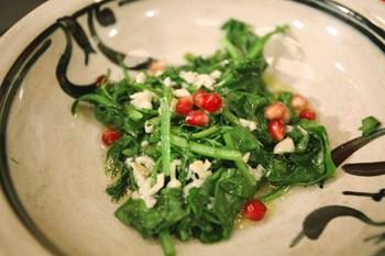 Zeytinyağlı Roka Salatası Tarifi