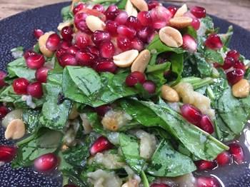 Yerfıstıklı Patlıcan Salatası